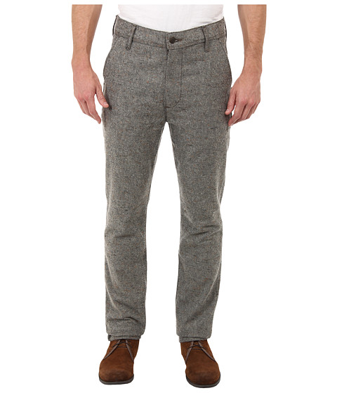 7 For All Mankind - The Chino in Heather Grey Tweed (Heather Grey) Men