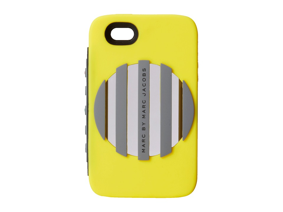 Marc by Marc Jacobs - Out Loud Phone Case for Phone 5 (Disco Yellow) Cell Phone Case