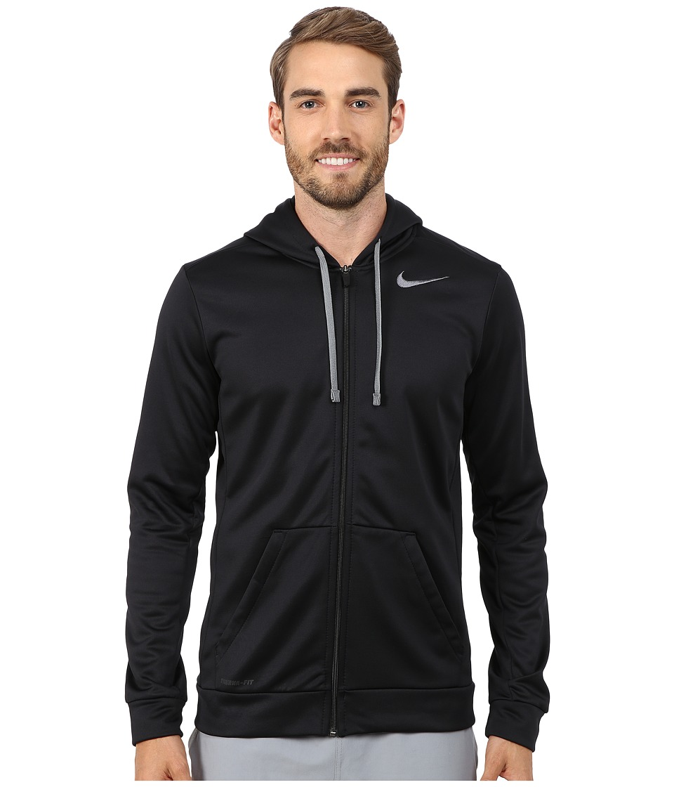 Nike - KO Full-Zip Hoodie 3.0 (Black/Cool Grey) Men