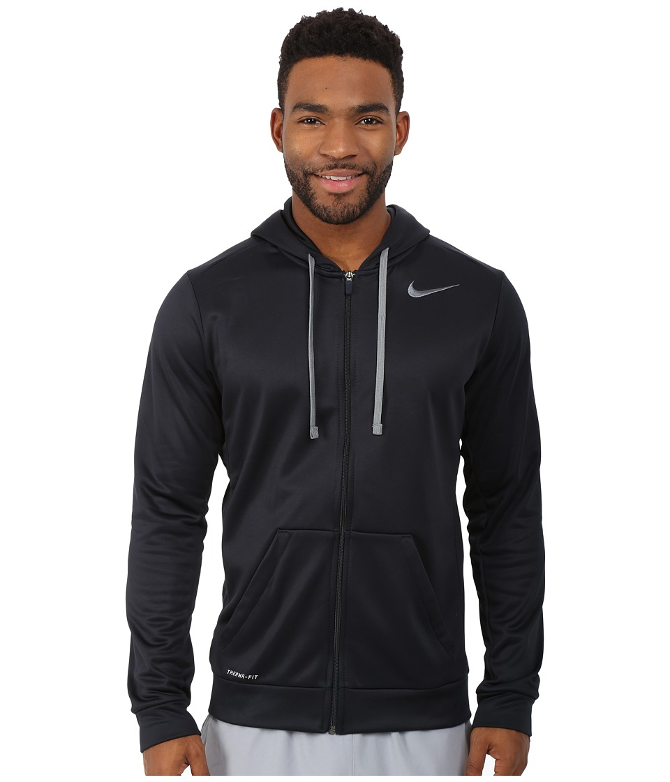 Nike - KO Full-Zip Hoodie 3.0 (Dark Obsidian/Cool Grey) Men's Sweatshirt