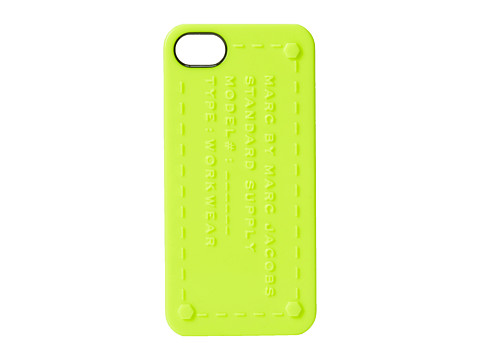 Marc by Marc Jacobs - Standard Supply Iphone 5 Case (Safety Yellow) Cell Phone Case