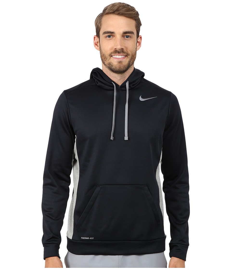 Nike - KO Hoodie 3.0 (Dark Obsidian/Dark Grey Heather/Cool Grey/Cool Grey) Men's Sweatshirt