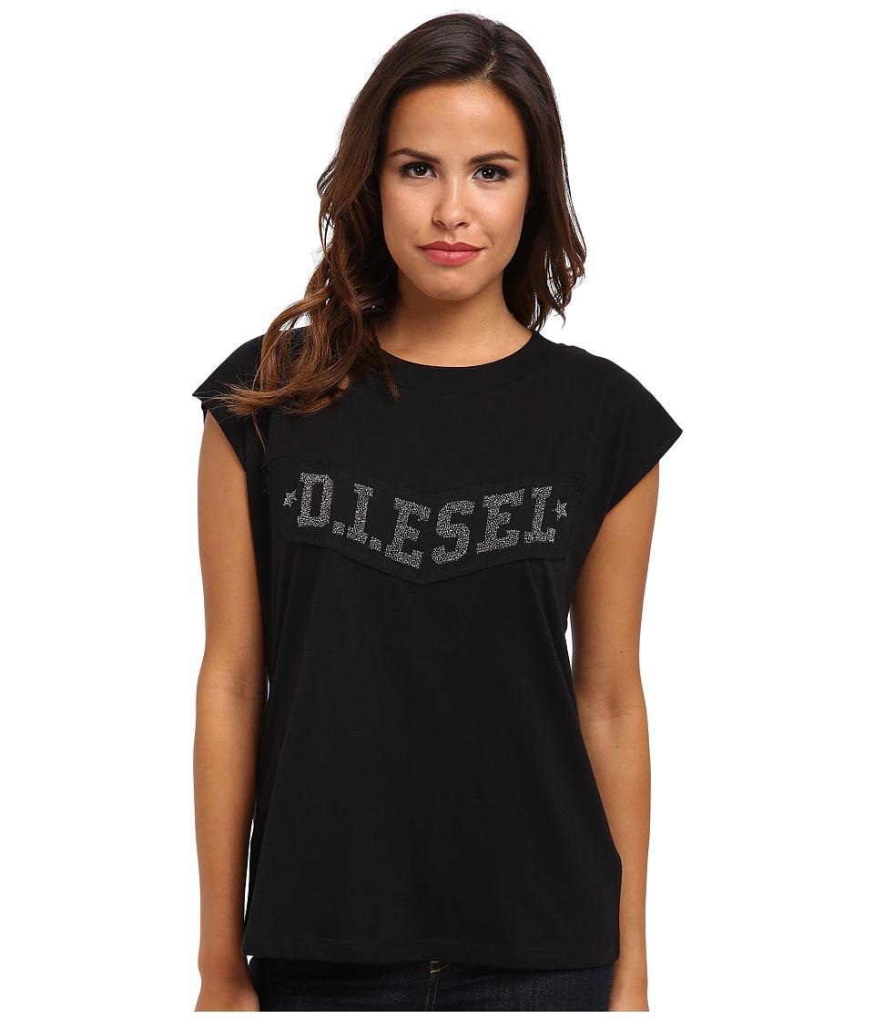 Diesel - T-Ale-AG T-Shirt (Ebony) Women's T Shirt