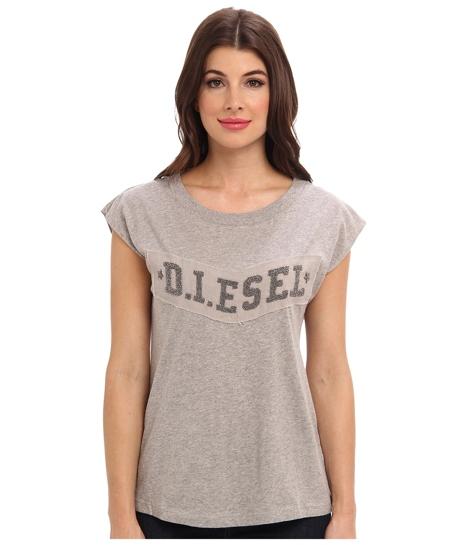 Diesel - T-Ale-AG T-Shirt (Grey) Women's T Shirt