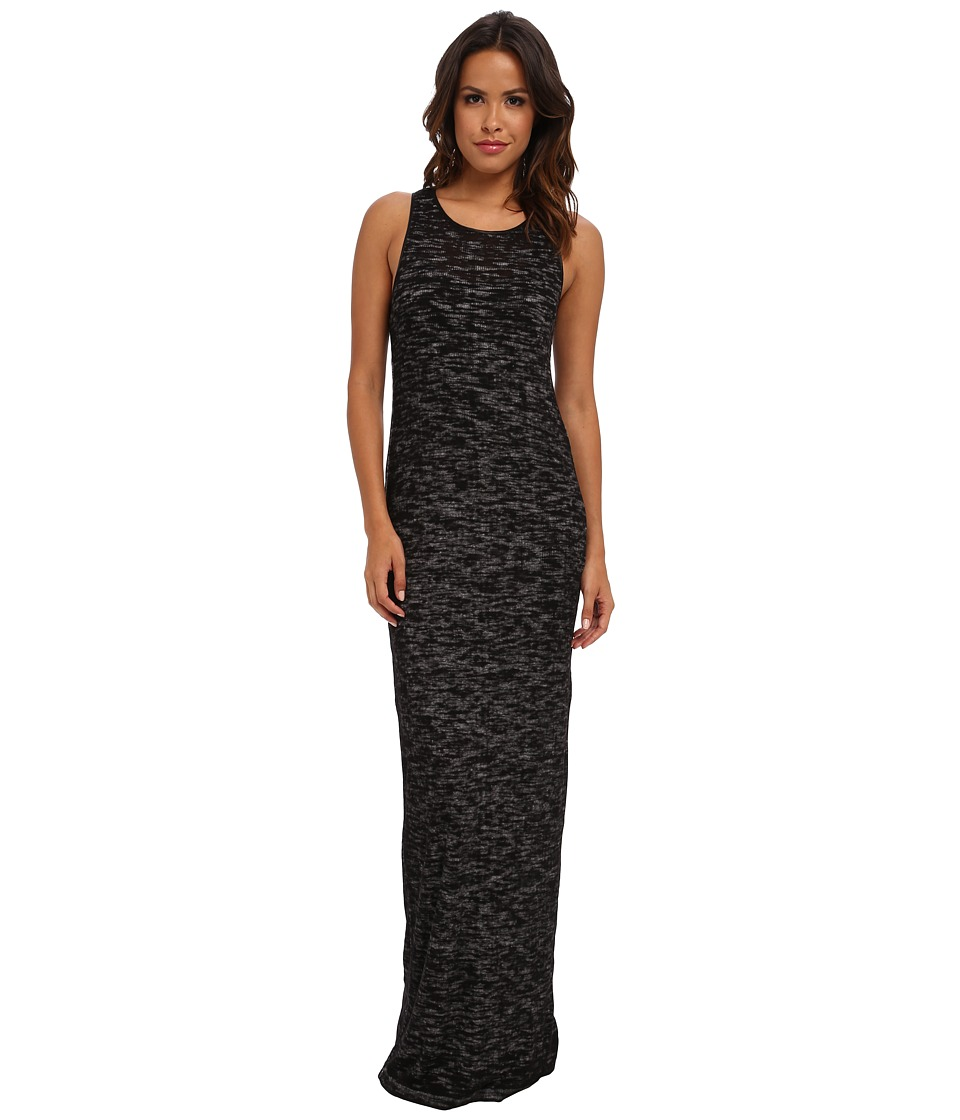 Diesel - D-Ria Ribbed Maxi Dress (Charcoal/Grey) Women's Dress