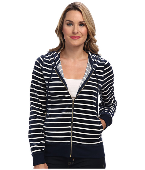 Calvin Klein - Mini Spaced Hoodie (Navy Stripe) Women