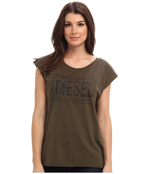Diesel - T-Ale-U Tee (Hunter/Green) Women's Short Sleeve Pullover