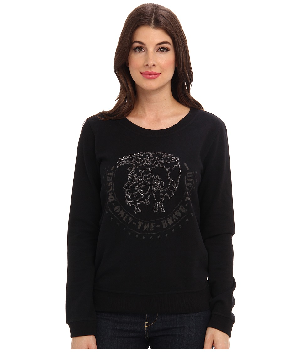 Diesel - F-Dial-E Sweatshirt (Black) Women