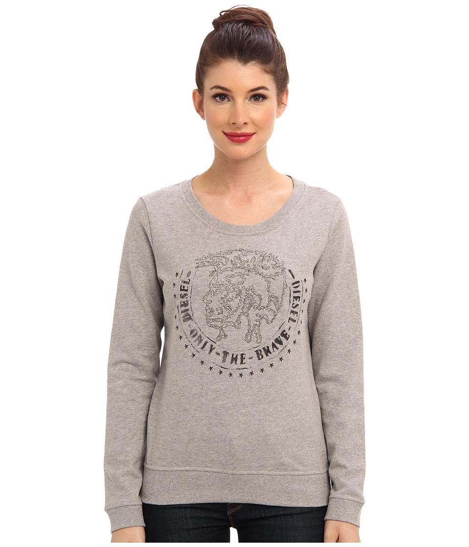 Diesel - F-Dial-E Sweatshirt (Grey) Women