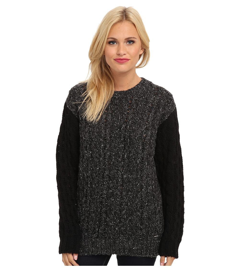 Diesel - M-Gad Sweater (Black) Women's Sweater