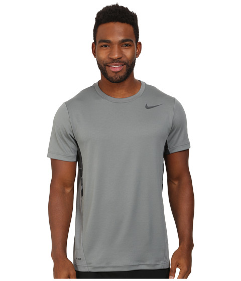 Nike - Vapor Dri-FIT S/S Top (Cool Grey/Anthracite) Men