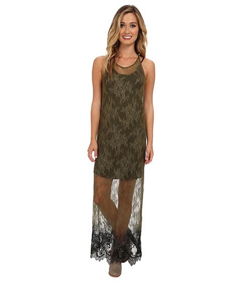 Diesel - D-Lavinia Dress (Olive/Green) Women's Dress