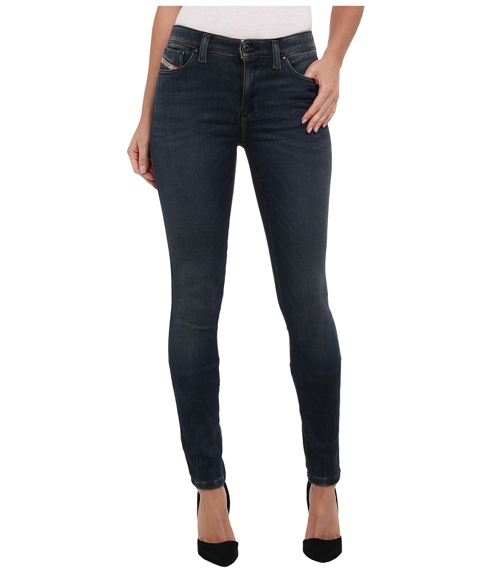 Diesel - Skinzee Super Skinny 834R (Denim) Women's Jeans