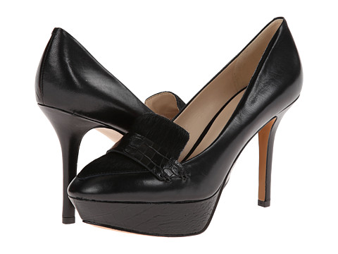 Nine West - Cabbot (Black Multi Leather) High Heels