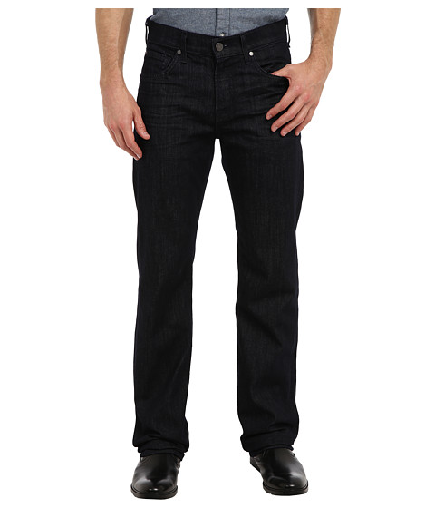 7 For All Mankind - Luxe Performance Austyn Relaxed Straight w/ Clean Pocket Long in Deep Well (Long Inseam) (Deep Well) Men