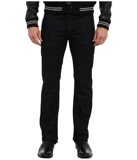 7 For All Mankind - Luxe Performance Standard Straight w/ Clean Pocket in Deep Well (Deep Well) Men