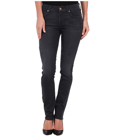 7 For All Mankind - The Modern Straight in Bastille Grey (Bastille Grey) Women's Jeans