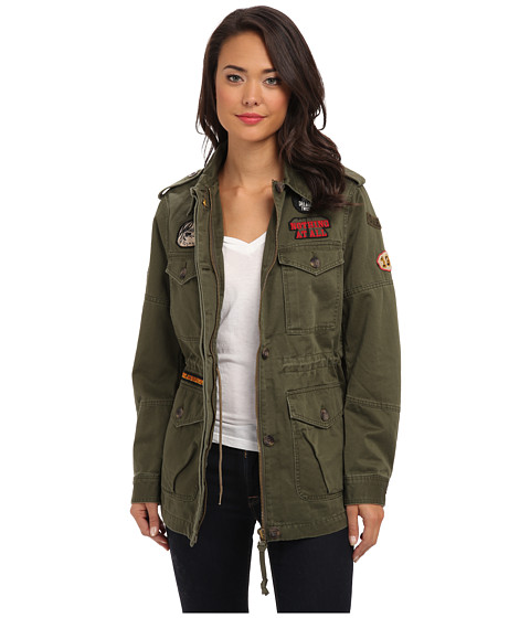 Diesel - G-Yvette-A Jacket (Olive/Green) Women's Jacket