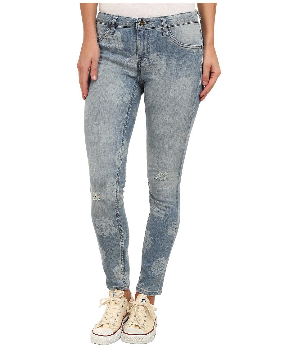 Volcom - Liberator Denim Legging (Worn Light) Women's Casual Pants