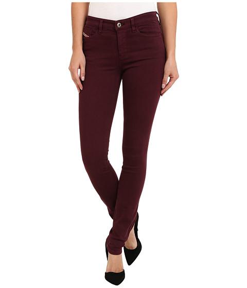 Diesel - Skinzee Skinny 851W (Merlot) Women's Jeans