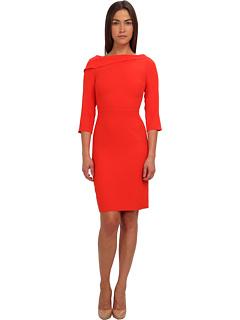 SALE! $139.99 - Save $288 on Rachel Roy Drape Neck Dress (Pomegranate) Apparel - 67.29% OFF $428.00
