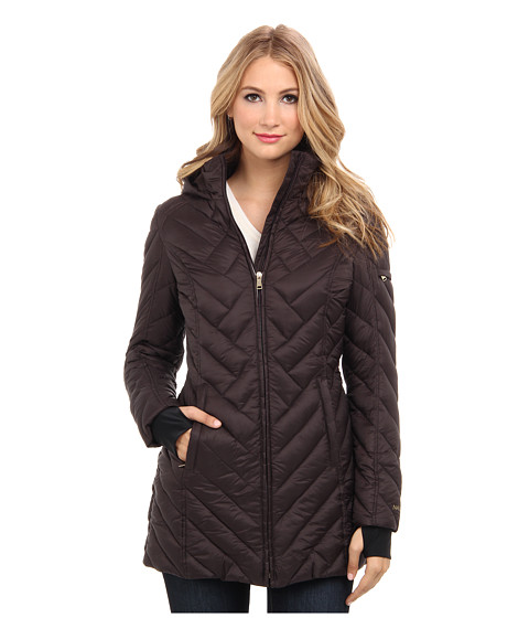 Nautica - EQ824169 (Chocolate Cupcake) Women's Coat