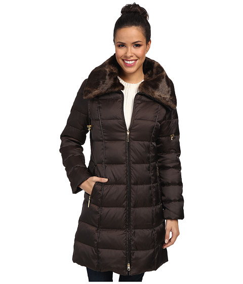 Nautica - EQ820304 (Chocolate Cupcake) Women's Coat