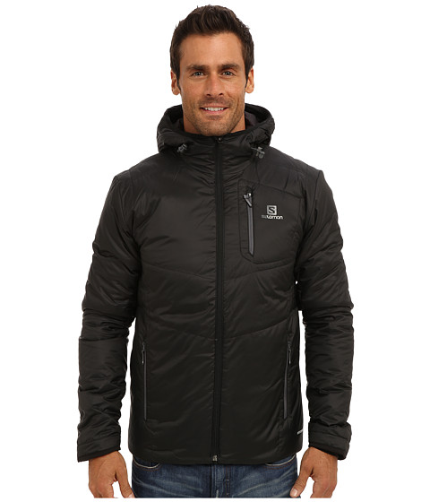 Salomon - Insulated Hoodie Jacket (Black) Men