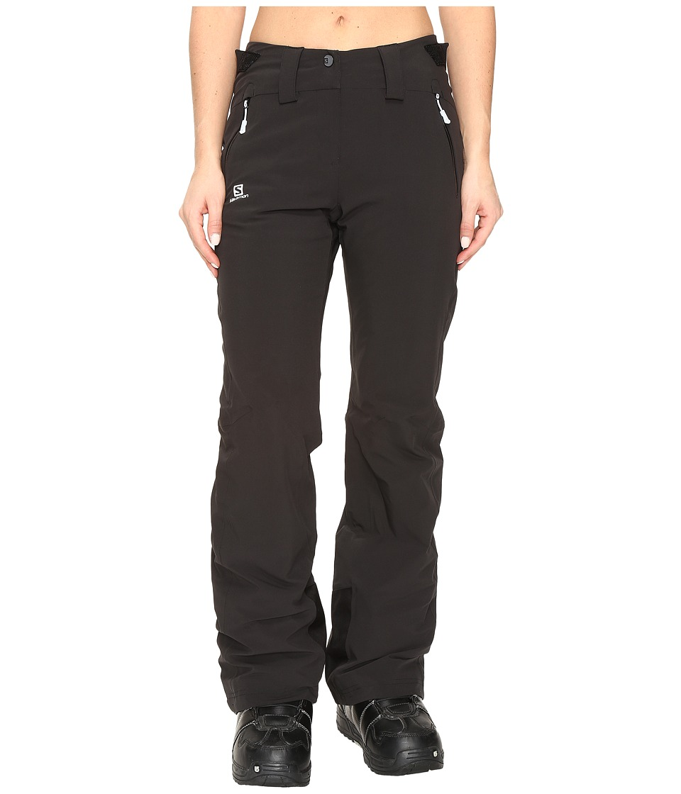 Salomon - Iceglory Pant (Black) Women's Casual Pants