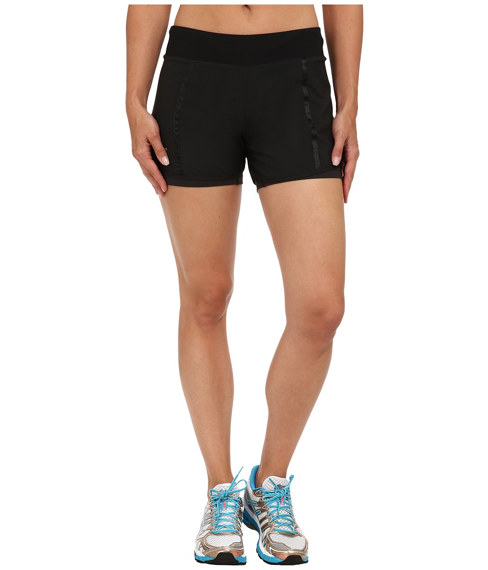 Salomon - Park 2-in-1 Short (Black) Women's Shorts