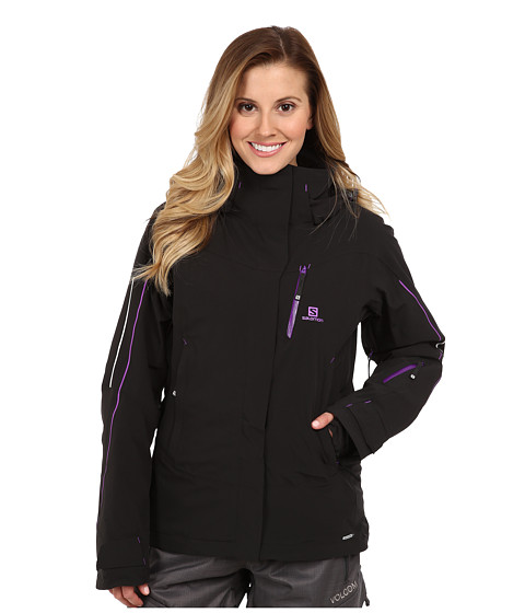 Salomon - Iceglory Jacket (Daisy Pink/Mystic Purple) Women's Coat