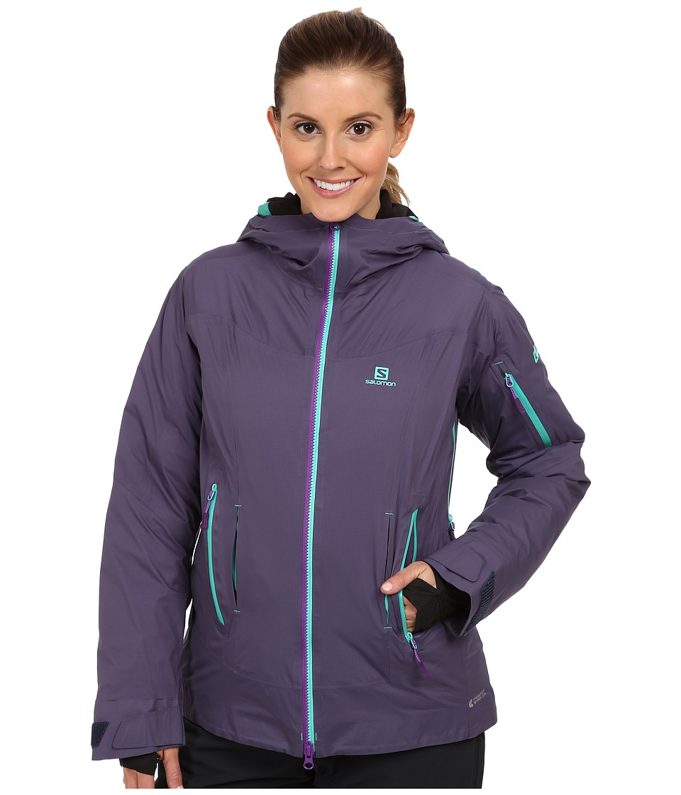 Salomon - Soulquest Bc Down Jacket (Artist Grey) Women