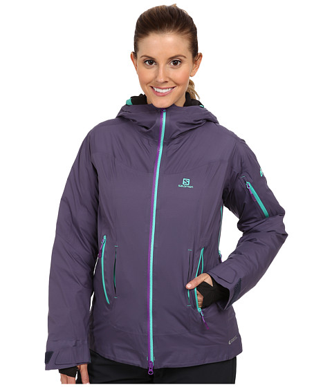 Salomon - Soulquest BC Down Jacket (Artist Grey) Women's Coat