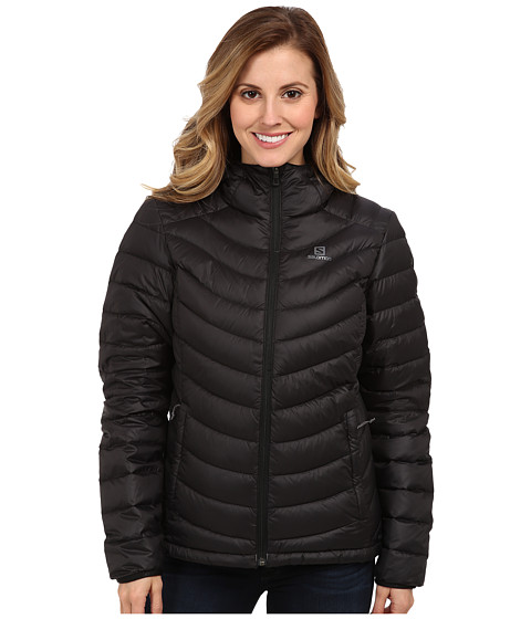 Salomon - Halo Down Hoodie II (Black) Women's Coat