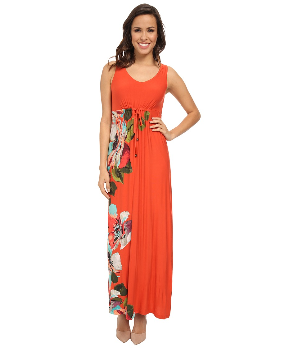 Tommy Bahama - Madalena Rose Long Dress (Red Hot) Women