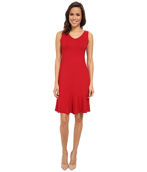 Tommy Bahama - Gower Jersey Sleeveless Dress (Cerise) Women