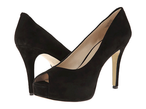Nine West - Camya (Black Suede) High Heels