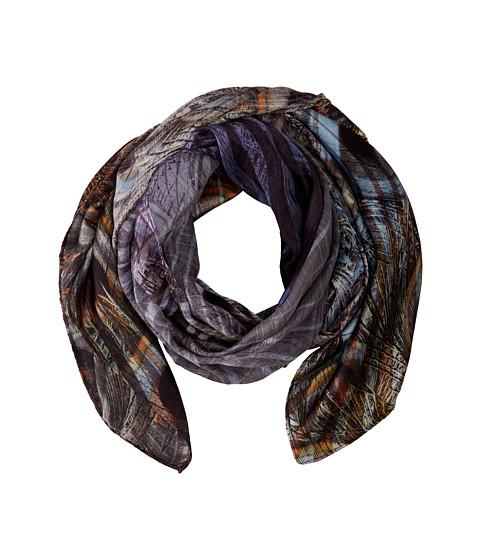 Echo Design - Peacock Scarf (Black) Scarves