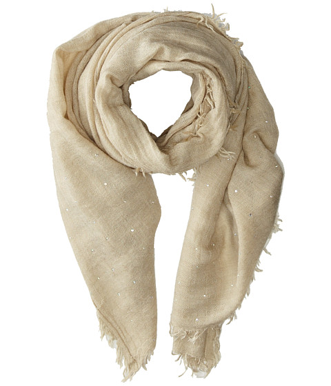 Echo Design - Brushed Houndstooth Wrap (Camel) Scarves