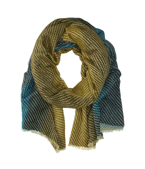 Echo Design - Pixel Ombre Wrap (Teal) Scarves