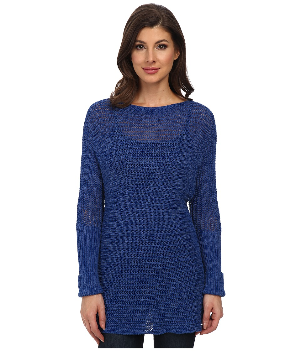 Tommy Bahama - Sweetzer Dolman Sleeve Pullover (Blue Splash) Women's Long Sleeve Pullover