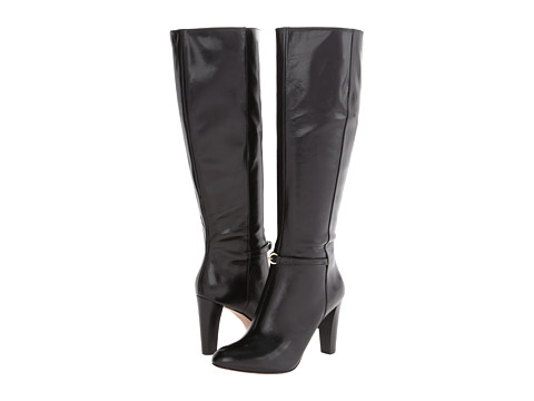 Nine West - Chaplin (Black 2 Leather) Women