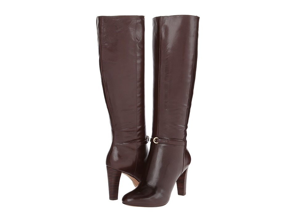 Nine West - Chaplin (Dark Brown Leather) Women's Boots