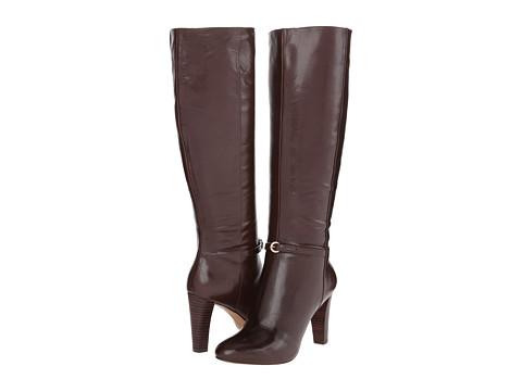 Nine West - Chaplin (Dark Brown Leather) Women's Boots