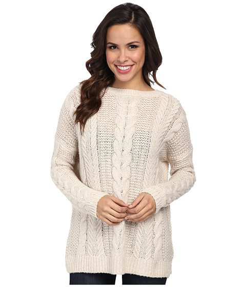 Tommy Bahama - Tamarind Cable Pullover (Arctic Wind Heather) Women