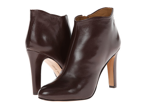 Nine West - Cozie (Dark Brown Leather) Women