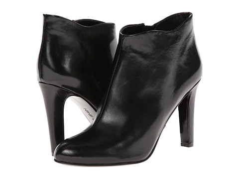 Nine West - Cozie (Black Leather) Women's Zip Boots