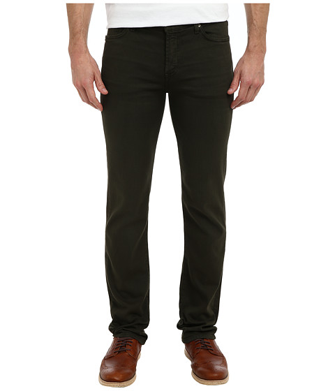 7 For All Mankind - Luxe Performance Slimmy Slim Straight in Twill Colors (Twig Green) Men