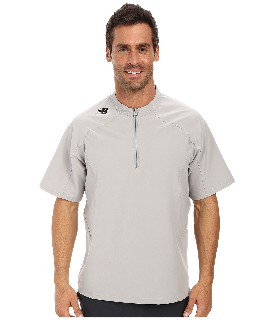 New Balance - S/S Ace Jacket (Athletic Grey) Men's Workout