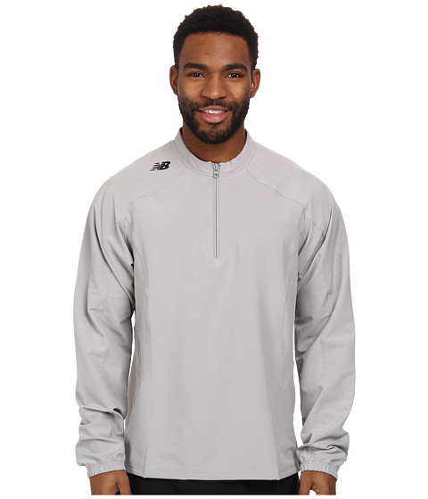 New Balance - L/S Ace Jacket (Athletic Grey) Men's Workout
